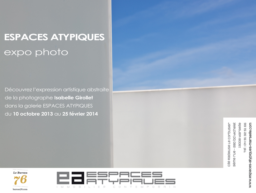 photography exhibition espaces atypiques marseille france isabelle girollet. Black Bedroom Furniture Sets. Home Design Ideas